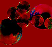Red Bubbles by Tim Scullion