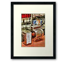 Americana - The Greasy Spoon Framed Print