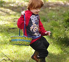 easter egg hunting by Jeannie Peters