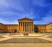 Philadelphia Art Museum by Evelina Kremsdorf