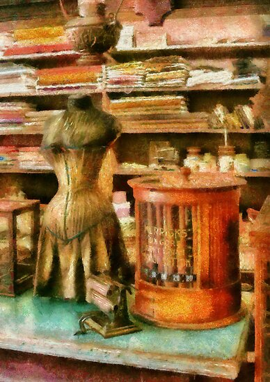 Sewing - Supplies for the Seamstress by Mike  Savad