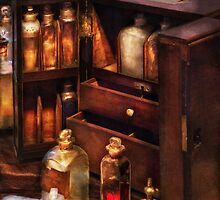 Doctor - The medicine cabinet by Mike  Savad