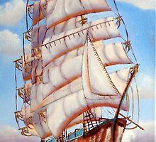 Cutty Sark, tallships by Hettie Bailey