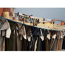 Fragments of Richness: An Indian Expose - uniformity Photographic Print