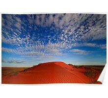 Dunes - Simpson Desert, NT Poster