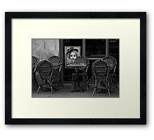 Silent presence Framed Print