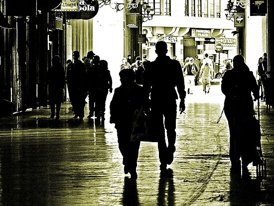 Walking in Shadows by Berns