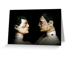 Toy Box - Action Men in Love I Greeting Card