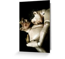 Toy Box - Action Men in Love II Greeting Card