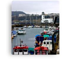 Scarborough Harbour #1 Canvas Print