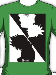 Kingdom Hearts Sora Vs Roxas T-Shirt
