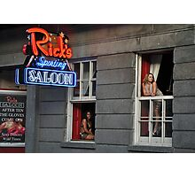 Rick's Saloon dancers--New Orleans Photographic Print