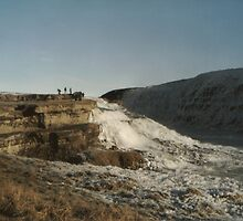 Gullfoss precipice by Malky-C