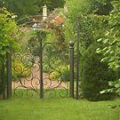 Through the garden gate by Heather Thorsen
