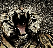 Roaring Tiger by George Lenz