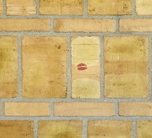 Someone else loves brick walls, too by Marjolein Katsma