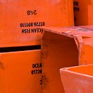 Bright Orange Crates by SpencerCopping