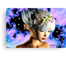 Fantasy Faerie: Enchanted Canvas Print
