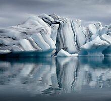 Sounds of Silence #3 - Glacier (Jökulsárlón) Lagoon Iceland  by angelena rebori