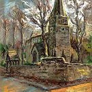St Michael Church in Breaston, Derbyshire, UK by Linandara