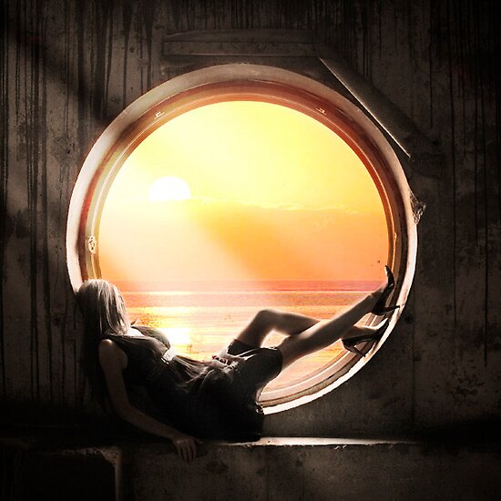 When sun come down. by anyakozyreva