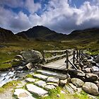 To Tryfan - North Wales by Douglas  Latham