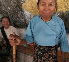 Burmese Grandma by Colinizing  Photography with Colin Boyd Shafer