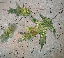 Pin Oak Leaves by linmarie