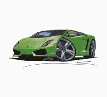 Lamborghini LP560/4 Lime Kids Clothes