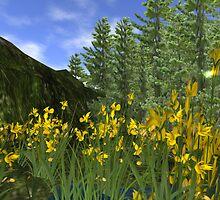 Mountain Greenery by Beth Gross