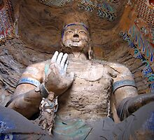 Yungang  Grottoes 1 by Sophie Xing