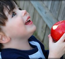 An apple a day...keeps the doctor away.... by Jenni Atkins-Stair