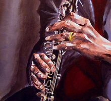 Jazz Player by Dave Lechko