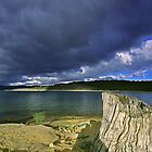 Stormy Lake - Jindabyne, NSW by graphicscapes