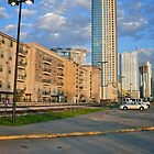 A View of Downtown Austin - From Amtrak Station - Texas © 2010 by Jack McCabe