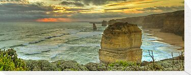 Great Ocean Road: Twelve Apostles by Lawrie McConnell