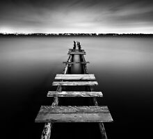 Abandoned Jetty by matthewfry
