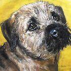 Poppy, border terrier by Jonesy7