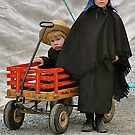 Amish Brother & Sister by Monte Morton