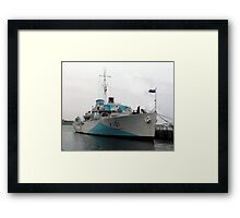 The Last Corvette Framed Print