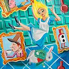 ALICE IN WONDERLAND by gordonbruce