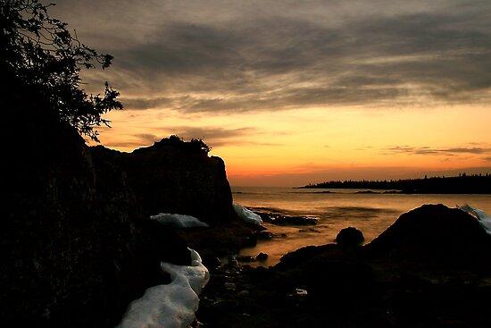 Sunset north of Pancake Bay Ontario by Eros Fiacconi (Sooboy)