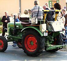 Farmer's Taxi by Detlef Becher