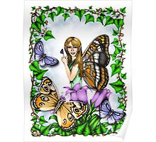 The Butterfly Fairy Poster