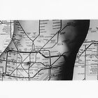 Body Maps - Tube Map - Torso by MaggieGrace