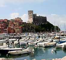 Lerici Touristic Harbour and Castle by sstarlightss