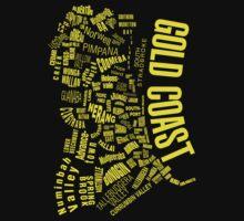 Gold Coast Suburbs by Attila Acs
