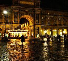 Piazza della Repubblica, Florence, Italy by Alan E Taylor