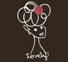Lovely (T-shirt) by Evangeline Than