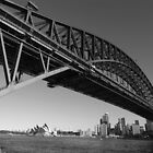 Sydney Harbour Bridge by supersnapper